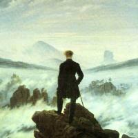 Каспар Давид Фридрих. Странник над морем тумана