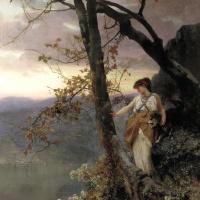 Генрих Ипполитович Семирадский. Сцена из римской жизни