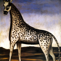 Нико Пиросмани (Пиросманашвили). Жираф