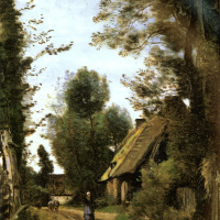 Camille Corot. Road