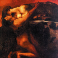 Франц фон Штук. Страстный поцелуй