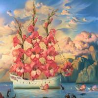 Владимир Куш. Корабль-цветок