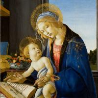 Мадонна с Младенцем и книгой