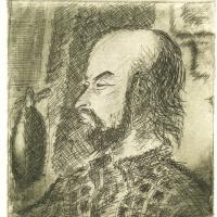 Portrait of Yuri Borodachev