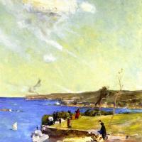 Arthur Ernest Streaton. Blue Pacific