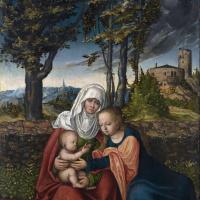 Мария с младенцем и Святая Анна