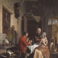 Давид Эмиль Жозеф де Нотер. На кухне