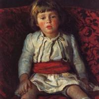 Николай Николаевич Ге. Портрет внука Николая (Кики)
