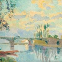 Мост в Шатой
