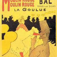 """""""Мулен Руж"""". Ла Гулю, плакат"""