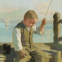 Фердинанд Ходлер. Маленький рыбак