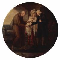 Ангелика Кауфман. Монах из Кале