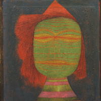 Paul Klee. The mask of the actor