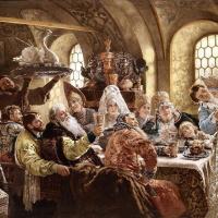 Боярский свадебный пир в XVII веке