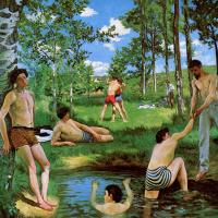 Bathers (Summer scene)