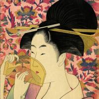 Китагава Утамаро. Гребень