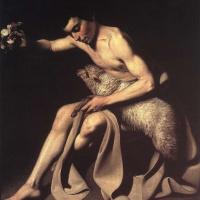 Микеланджело Меризи де Караваджо. Иоанн Креститель