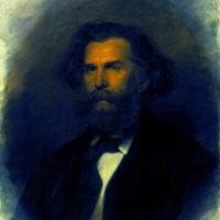 Иван Николаевич Крамской. Портрет художника Алексея Петровича Боголюбова
