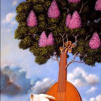Rafal Olbinski. Lilac