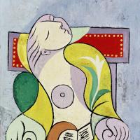 Пабло Пикассо. Чтение