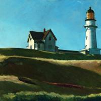 Эдвард Хоппер. Холм с маяком