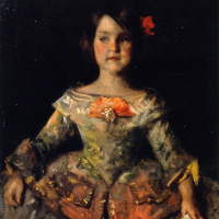 Infanta (for Velasquez). The artist's daughter, Helen