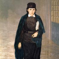 Николай Александрович Ярошенко. Курсистка (писательница А.К. Дитерихс)