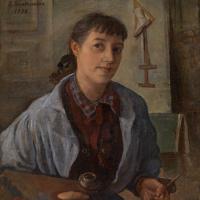 Зинаида Евгеньевна Серебрякова. Автопортрет
