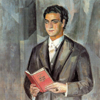 Грегорио Прието Муньос. Мужчина с книгой