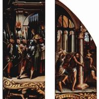 Ганс Гольбейн Младший. Положение во гроб и Бичевание Христа