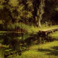 Василий Дмитриевич Поленов. Заросший пруд