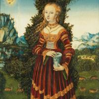 Лукас Кранах Старший. Святая Мария Магдалина