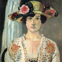 Анри Матисс. Дама в шляпе с цветами