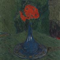 Куно Амье. Маки в голубой вазе