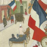 Пьер Боннар. Париж. День взятия Бастилии