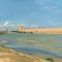 Крепостной вал в Эгес-Морте