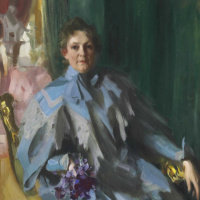 Portrait Of Lilly Eberhard Anheuser,
