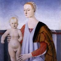 Пьеро делла Франческа. Мадонна с младенцем