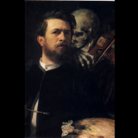 Автопортрет со Смертью