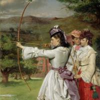 William Powell Fright. Fair archers