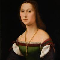 Рафаэль Санти. Женский портрет (Немая)