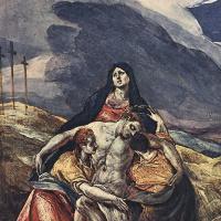 Эль Греко (Доменико Теотокопули). Оплакивание Христа (Пьета)