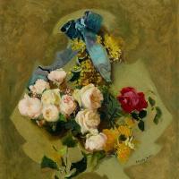 Хоакин Соролья (Соройя). Висящие цветы