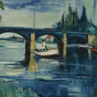 Морис де Вламинк. Мост в Шату
