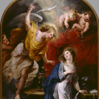 Peter Paul Rubens. The Annunciation