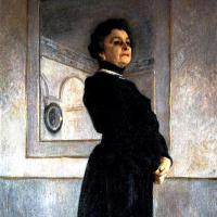 Портрет артистки М. Н. Ермоловой