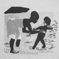 Отчего Джани удрал и вернулся. Иллюстрация из журнала «Искорка» (1929. № 4)