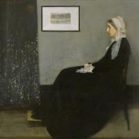Джеймс Эббот Макнейл Уистлер. Аранжировка в сером и черном №1. Мать художника