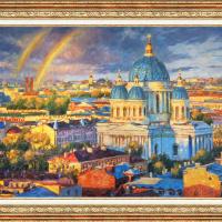 Igor Razzhivin. Радужное настроение северной столицы