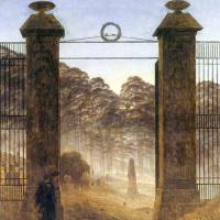 Вход в кладбище